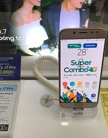 Hưởng lợi kép khi mua Samsung Galaxy J3 Pro/J7 Pro tại Viettel Store