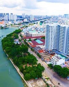Dự án nào ở trung tâm Sài Gòn đang sở hữu 3 mặt view sông?