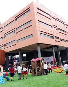 Trường SNA mới, trang thiết bị đẳng cấp quốc tế