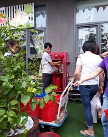 Mất nước, dân chung cư Hud3 Linh Đàm phải nhịn đi vệ sinh, dùng nước cứu hỏa, múc từ bể cá dội bồn cầu