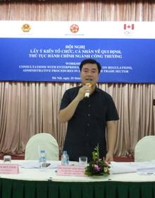 Vụ trưởng Vụ Pháp chế Bộ Công thương: Mục tiêu của chúng tôi là tiếp tục đi đầu về cải cách thủ tục hành chính
