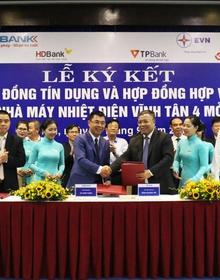 5 ngân hàng cho Dự án nhà máy nhiệt điện Vĩnh Tân 4 của EVN vay 5.400 tỷ