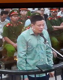 Phiên tòa chiều 19/9: Hà Văn Thắm nhận 2 tội và cho rằng bị oan uổng với 2 tội còn lại