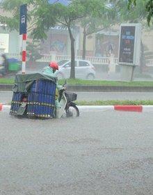 Bão số 6 đi vào Biển Đông, miền Bắc mưa to suốt 2 ngày