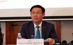 Phó Thủ tướng Vương Đình Huệ tiếp xúc 100 DN Bỉ và châu Âu