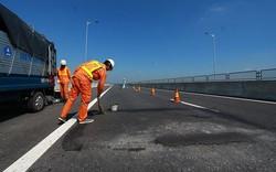Cận cảnh cao tốc 34.500 tỷ Đà Nẵng - Quảng Ngãi sau sửa chữa
