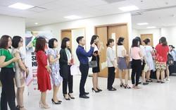 Dân văn phòng hào hứng tham gia hiến máu tình nguyện