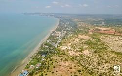 """Bình Thuận: Liên tục ra """"tối hậu thư"""" thu hồi hàng chục dự án nghỉ dưỡng ven biển chậm tiến độ"""