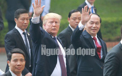 Tổng thống Donald Trump: Chủ tịch nước Trần Đại Quang là người bạn tuyệt vời của Mỹ