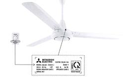 Cảnh báo một số mẫu quạt trần Mitsubishi Electric có nguy cơ mất an toàn