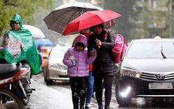 Đêm mai không khí lạnh tràn về, miền Bắc chuyển mưa rét