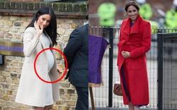 """3 thói quen khi mang bầu của Meghan đã vô tình """"phản chủ"""", càng chứng minh nghi vấn mang thai giả là có khả năng"""