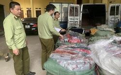 Thu giữ lượng lớn túi xách giả da do Trung Quốc sản xuất tại Lạng Sơn