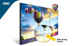 Màn hình Video Wall AOC – giải pháp thương hiệu cho doanh nghiệp