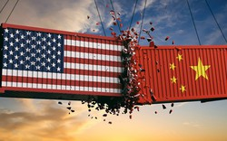 4 biểu đồ lột tả tác động thuế quan với thương mại Mỹ - Trung