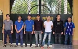 Truy tố 11 đối tượng cho vay nặng lãi, hành hung nạn nhân