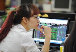 """Cổ phiếu ngân hàng, chứng khoán """"dậy sóng"""", VnIndex tiếp tục tăng gần 3 điểm"""