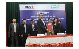 Tasco và Ngân hàng BIDV chi nhánh Nam Định ký kết hợp đồng tín dụng