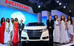 Honda Việt Nam ra mắt tân binh Odysseytại VMS 2015