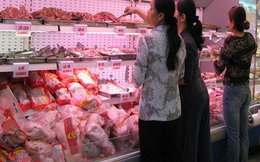 70 triệu kg thịt gà nhập khẩu chưa đến 20.000 đồng/kg