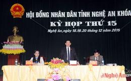 Nghệ An có tân Chủ tịch HĐND tỉnh