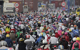 Kẹt xe cầu Rạch Chiếc, giao thông tê liệt nhiều giờ