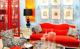 Mê mẩn với những thiết kế phòng khách đầy màu sắc