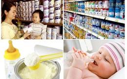 Công bố giá trần một số sản phẩm sữa dành cho trẻ dưới 6 tuổi của Nestle VN và Friesland Campina VN