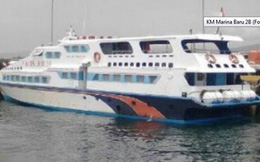 Tàu chở 120 người gặp nạn ở Indonesia, tìm thấy 4 người sống sót
