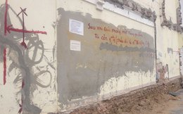 Hy hữu ở HN: Bức tường được rao bán 1 tỷ đồng