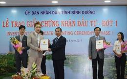 Bình Dương: Trao giấy chứng nhận đầu tư cho 28 dự án FDI