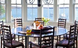 Bài trí bàn ăn cho căn phòng rộng