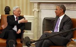 Tổng Bí thư: Cuộc gặp gỡ thú vị tại phòng bầu dục Nhà trắng