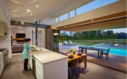 Mãn nhãn với 38 thiết kế nhà bếp có view cực đẹp