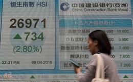Hồng Kông không còn miễn nhiễm với bong bóng ở Trung Quốc