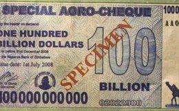 35 triệu tỷ dollar Zimbabwe đổi được 1 USD