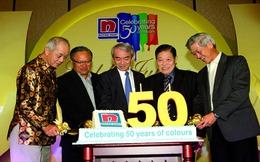 Tỷ phú ngành sơn trở thành người giàu nhất Singapore