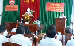Trưởng Ban Kinh tế Trung ương tiếp xúc cử tri trước kỳ họp thứ 9