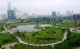 Quý IV/2015, khởi công dự án công viên Cầu Giấy mở rộng