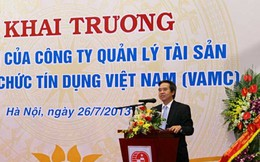 Thống đốc quyết định tỷ lệ các khoản thu của VAMC