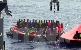 Tàu chở người di cư gặp nạn ở Địa Trung Hải, 20 người thiệt mạng