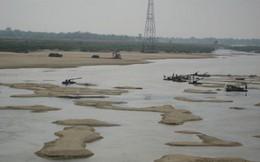 Sai phạm trong quản lý khai thác cát ở sông Lô
