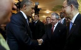Cuộc gặp lịch sử của tổng thống Mỹ và chủ tịch Cuba