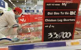 Phát hiện 17 mẫu thịt đùi gà Mỹcó kháng sinh