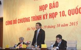 Quốc hội sẽ bầu Tổng thư ký tại kỳ họp 10