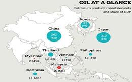 Giá dầu giảm ảnh hưởng khác nhau tới mỗi nền kinh tế châu Á