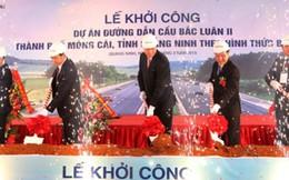 Khởi công đường dẫn cầu Bắc Luân 2 nối sang Trung Quốc