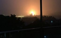 Nổ lớn tại nhà máy lọc dầu ở Trung Quốc