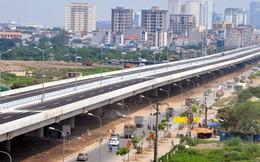 Thông xe kỹ thuật đường vành đai 2 đoạn Nhật Tân - Cầu Giấy trong tháng 10