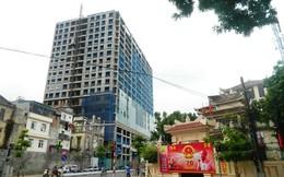 """Hà Nội yêu cầu ấn định thời gian """"cắt ngọn"""" tòa nhà 8B Lê Trực"""